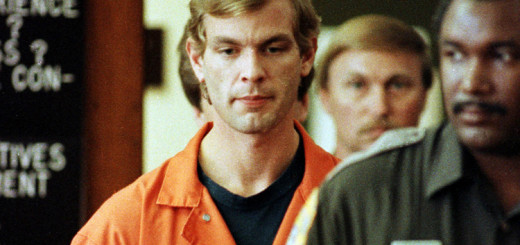 Jeffrey Dahmer orange prison overalls
