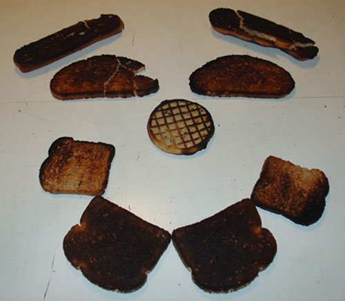burnt toast collection