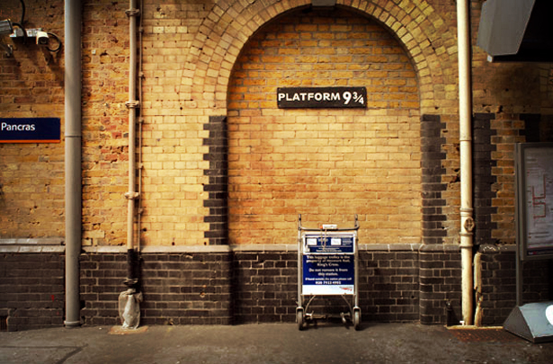 King's Cross Station Harry Potter