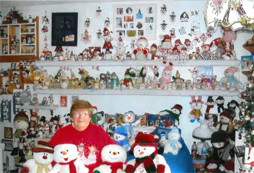 largest snowmen collection