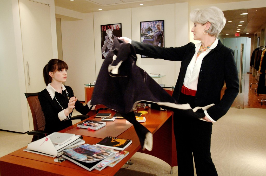 Devil Wears Prada Meryl and Anne