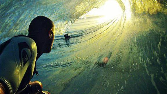 surfing gopro